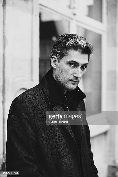 Scenarist Alain Gagnol is photographed for Self Assignment on October 5 2015 in Namur Belgium