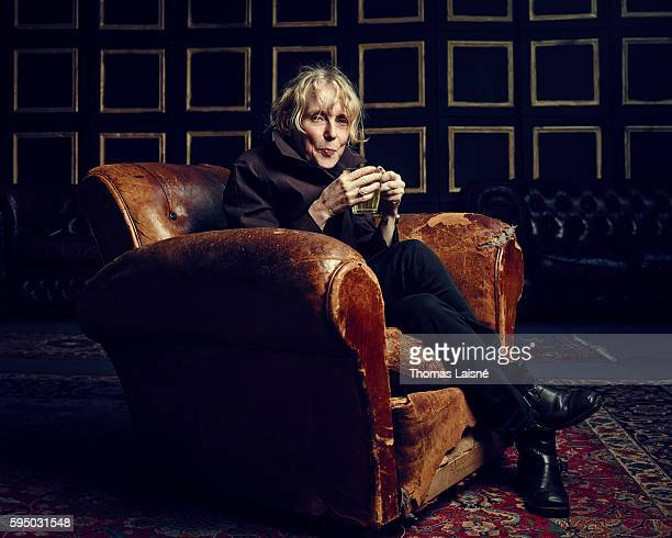 Scenarist Claire Denis is photographed for Self Assignment on May 23 2013 in Cannes France