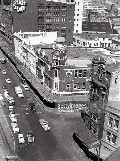 A scene a of Railway Square Sydney on 15 November 1958 FAIRFAX ARCHIVE Picture by D BEAL NEG T29/24/5259