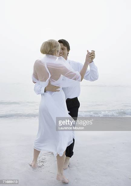 Scene from beach wedding