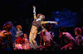 A scene from CATS is performed during the CATS media call at Regent Theatre on December 18 2015 in Melbourne Australia