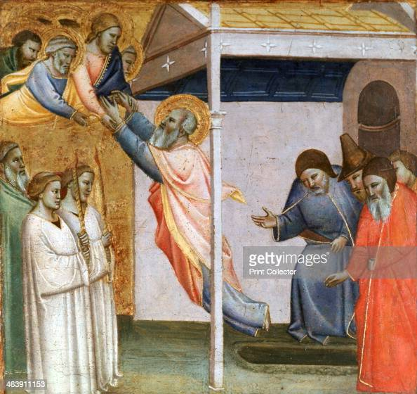 'Scene from the Life of St John' c13201366 Found in the collection of the Loredan Palace Venice Italy