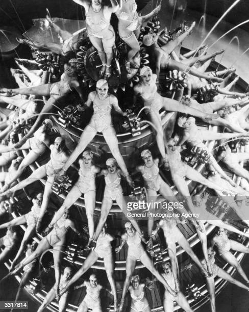A scene from the musical 'Footlight Parade' choreographed by Busby Berkeley
