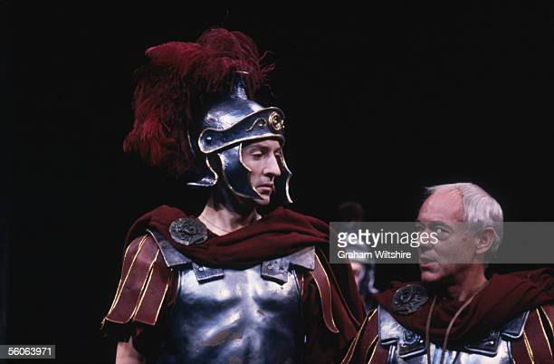 A scene from the play 'The Romans In Britain' by Howard Brenton directed by Michael Bogdanov at the National Theatre London 16th October 1980
