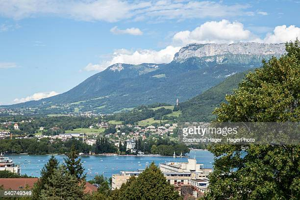 Scene of Lake Annecy