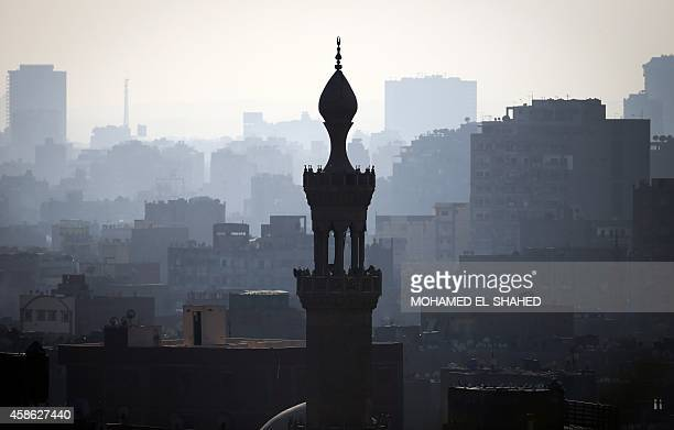 A scene of the Cairo skyline on November 8 2014 AFP PHOTO / MOHAMED ELSHAHED