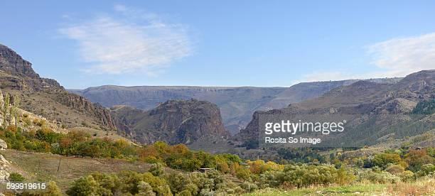 Scenery near Vardzia cave monastery, Georgia