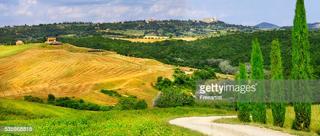 Scenery of Tuscany,Italy. : Stock Photo