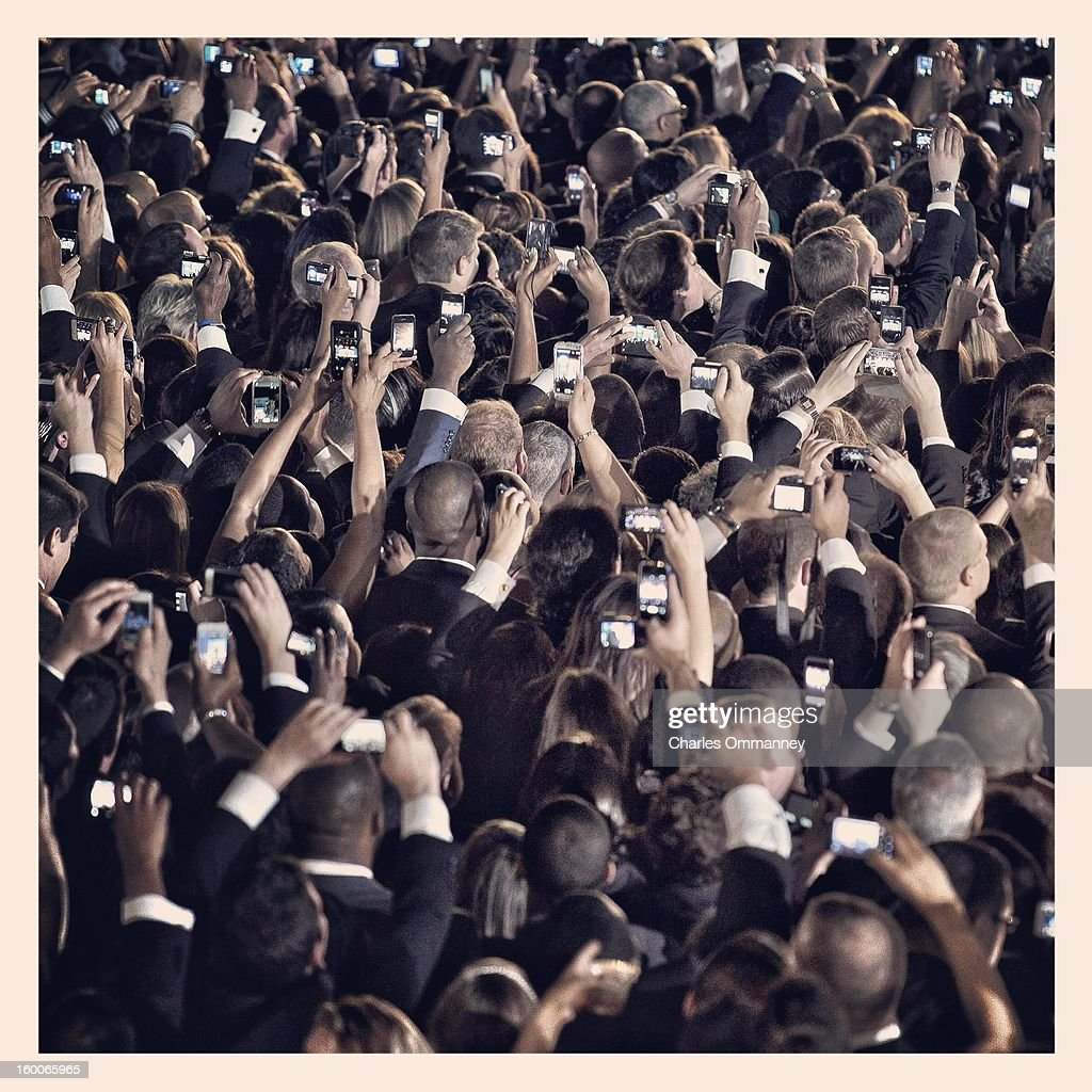INSTAGRAM - Scenes around Washington, DC as President Barack Obama takes the oath of office during the 57th Presidential Inauguration ceremonial swearing-in at the US Capitol on January 21, 2013 in Washington, DC.