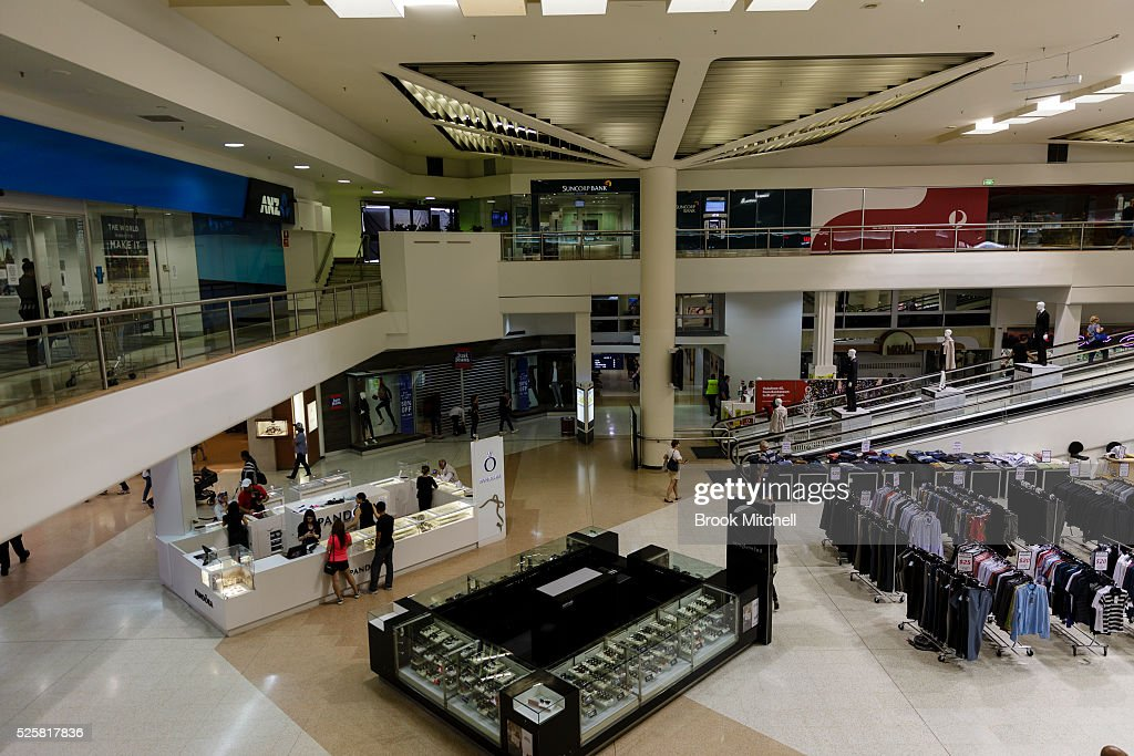 Scenes at the Bankstown Central Shopping Centre on April 29, 2016 in Sydney, Australia. One man has been confirmed dead, with two others injured.
