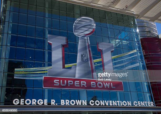 Scenes from around the NFL Experience at the George Brown Convention Center and Discovery Green on January 31 2017 in Houston Texas