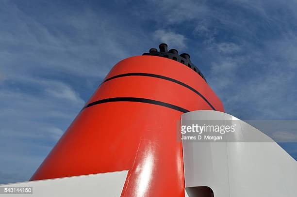 Scenes from onboard and at sea with Cunard's Queen victoria cruise ship on December 01 2014 in Barcelona Spain