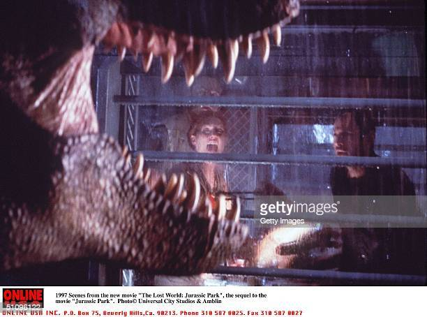 Scenes From The New Movie 'The Lost World Jurassic Park' The Sequel To 'Jurassic Park'