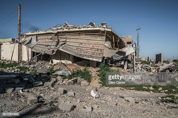 Scenes from the now destroyed city of Sinjar which was recently liberated from ISIL militants who originally captured the city on August 2014...