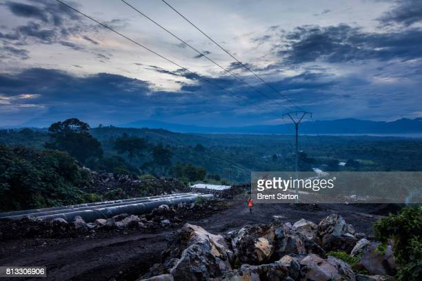 Scenes in the evening around the Matebi Hydroelectric station The powerstation is an initiative of Virunga National Park and when it comes online in...