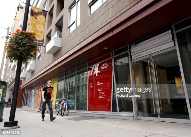 TORONTO ON SEPTEMBER 18 Scenes of the gallery and the inaugural show Raise a Flag OCAD opens yet another museumlevel gallery for the city with its...