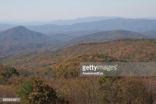 Scenic Appalachian Mountain Wilderness in Autumn : Stock Photo