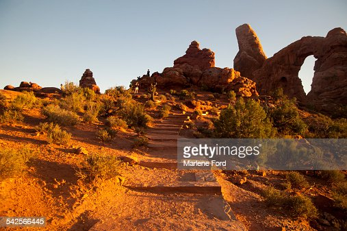 Scenic at Arches National Park
