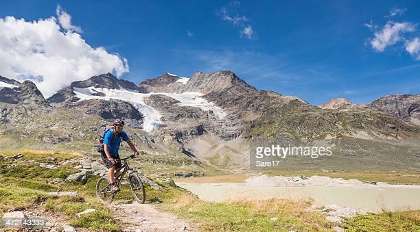 Scenic Bernina Pass Biking, Switzerland