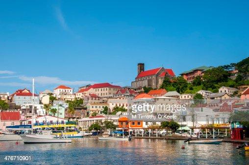 Scenic Carenage Waterfront St George's Grenada