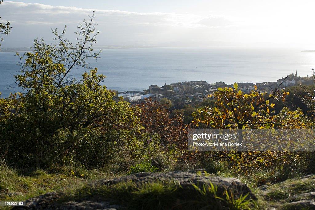 Scenic coastal view : Stock Photo