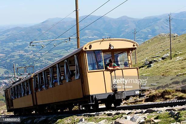 Scenic cog railway, La Rhune.