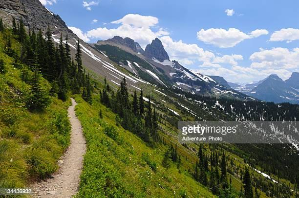 Sentiers de randonnée randonnée dans le Parc National de Glacier