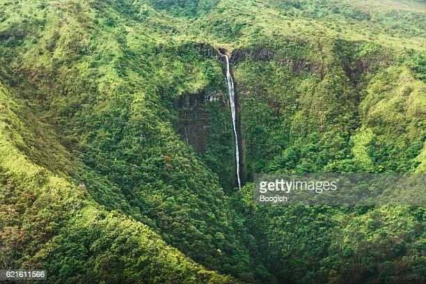 Scenic Honokohau Aerial View Hana Maui Waterfall Haleakala National Park