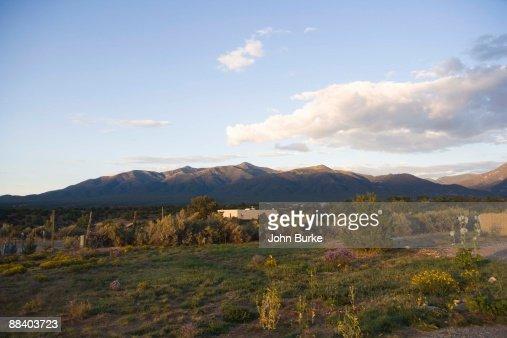 Scenic landscape, Taos, New Mexico
