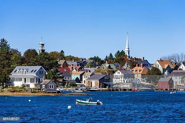 Scenic New England town