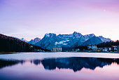 Calm water and mystical feel, Sud Tyrol, Italy