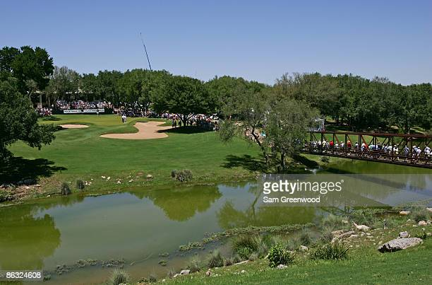 A scenic of the 5th hole during the final round of the FedEx Kinko's Classic held at The Hills Country Club in Austin Texas Sunday April 30 2006