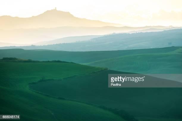 トスカーナ地方には、美しい景色とともに、ヴァルドルチャ,イタリア