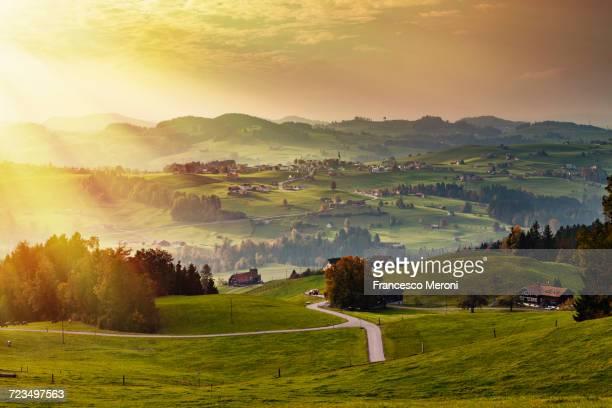 Scenic view, Appenzell, Appenzellerland, Switzerland