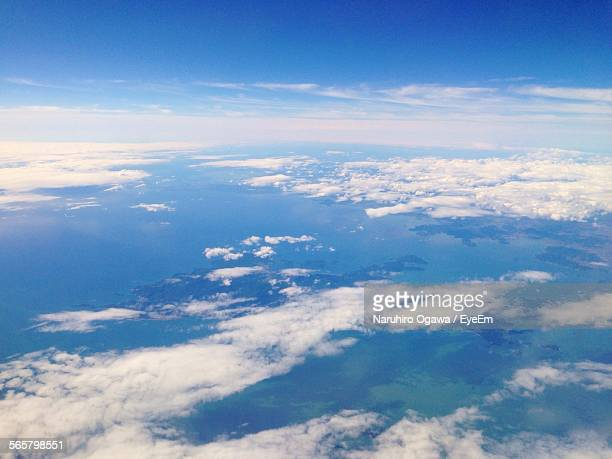 Scenic View From Aircraft