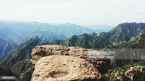 Scenic View Of Barrancas Del Cobre Against Sky