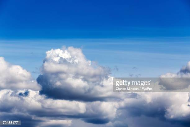 Scenic View Of Clouds In Blue Sky