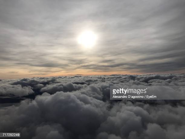 Scenic View Of Cloudscape Against Sky During Sunset