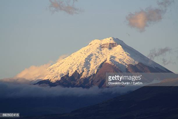 Scenic View Of Cotopaxi Against Sky