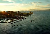 Scenic view of English Bay, Vancouver Canada.