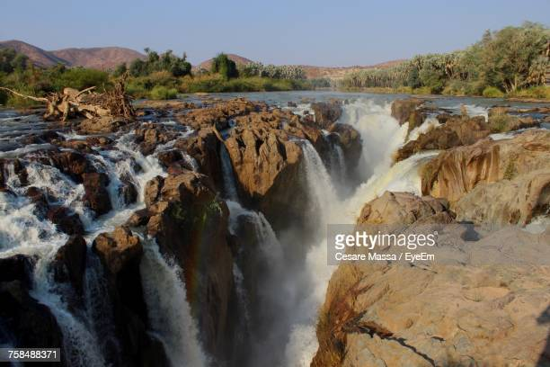 Scenic View Of Epupa Falls Against Sky