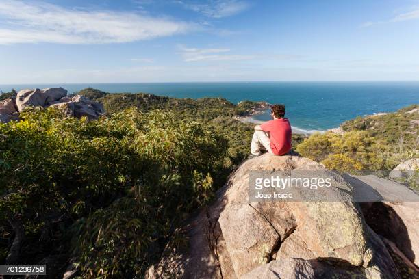 Scenic view of Florence Bay at Magnetic Island, Queensland, Australia