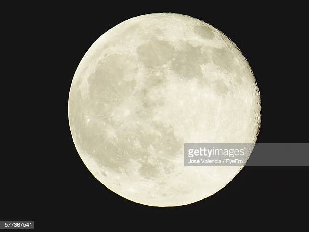 Scenic View Of Full Moon At Night
