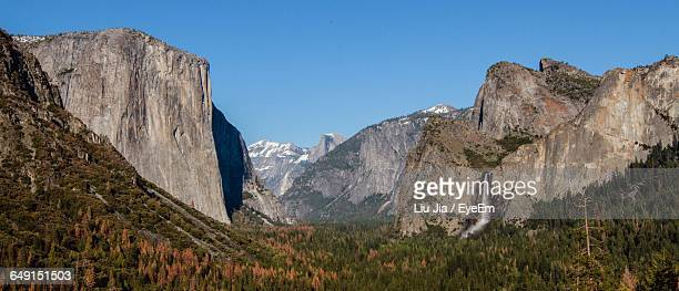 Scenic View Of Half Dome At Yosemite National Park