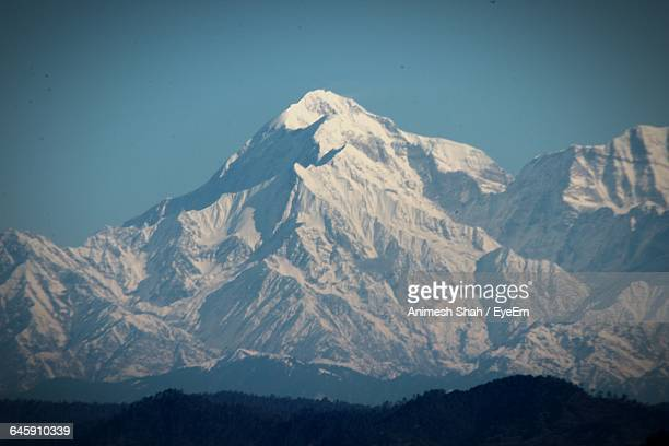 Scenic View Of Himalayas Against Sky