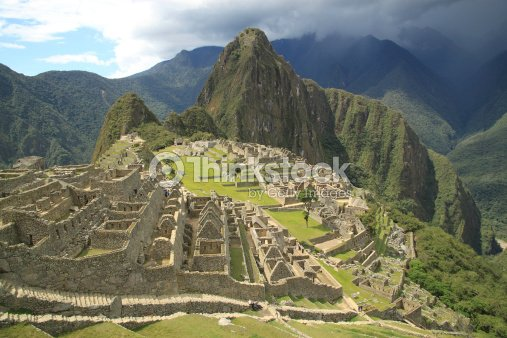 Vista panor mica de macchu picchu per am rica del sur for Arquitectura quechua