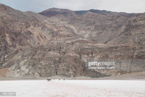 Scenic View Of Mountain At Death Valley National Park