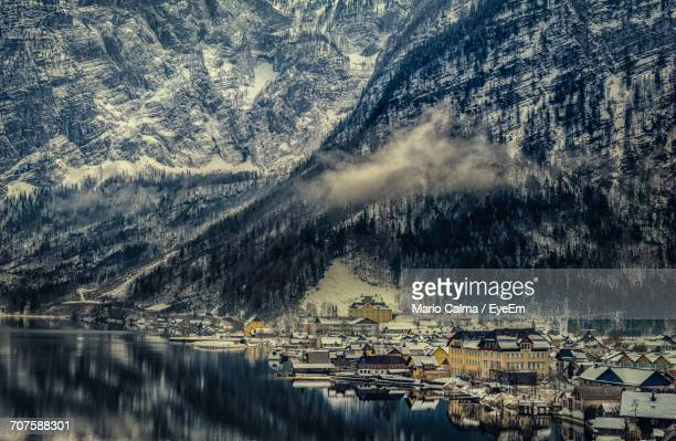 Scenic View Of Mountain Village