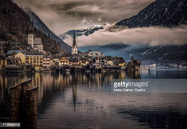 Scenic View Of Old Austrian Town