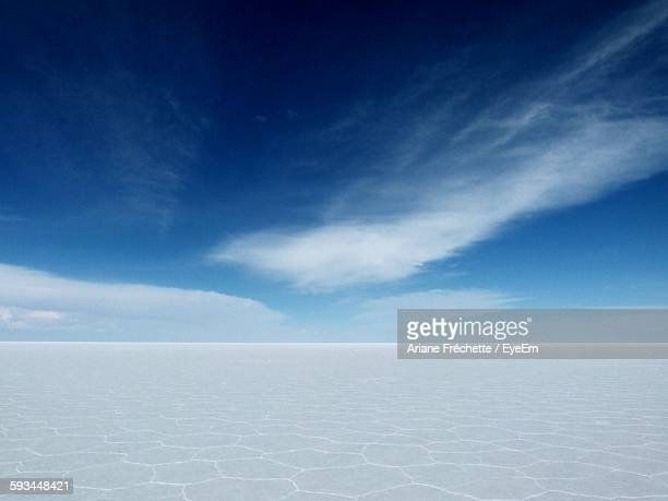 Scenic View Of Salar De Uyuni Against Sky